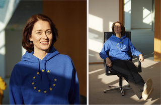 Katarina Barley for the European election campaign, Berlin 2019